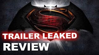 Batman v Superman Trailer LEAKED TODAY - Review - Beyond The Trailer