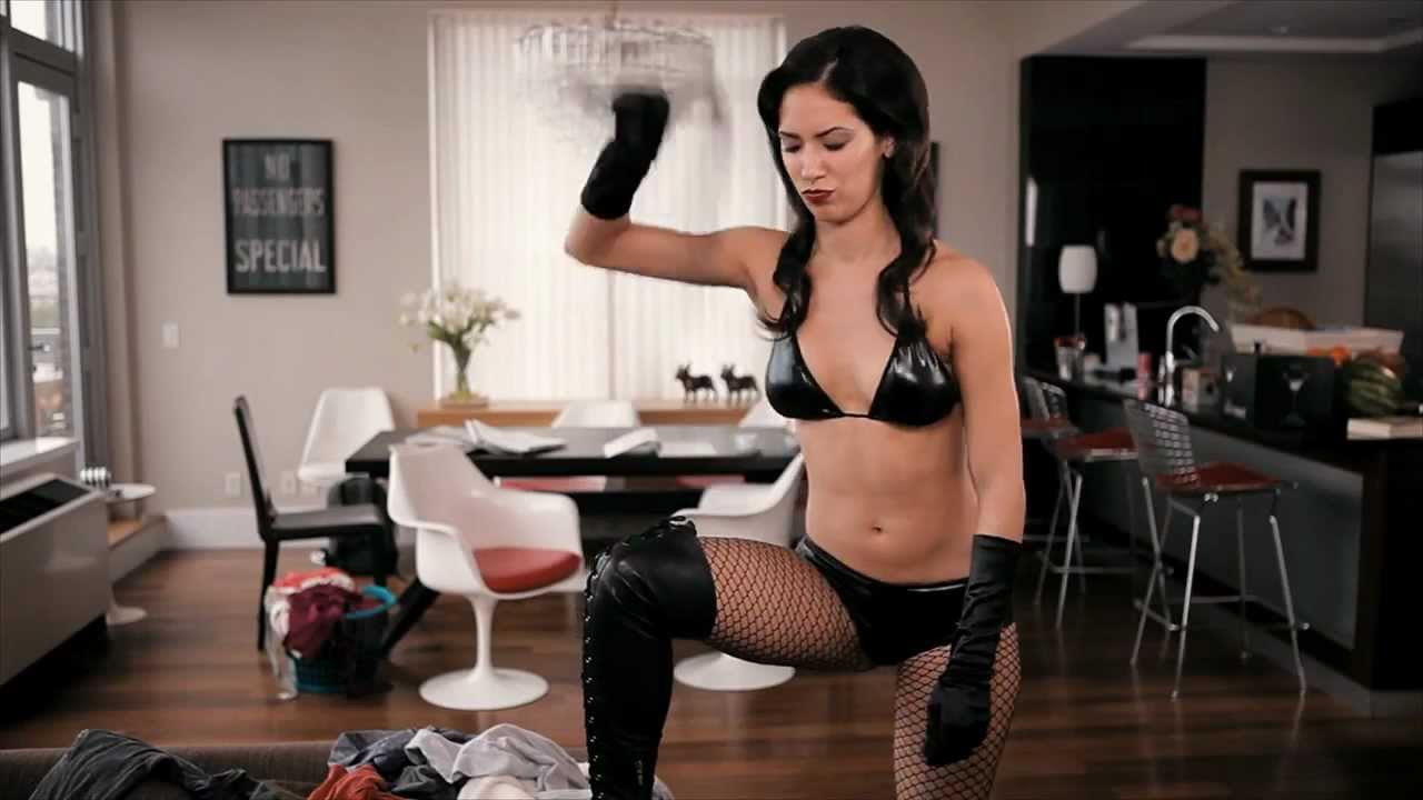 image Teen maid cleans more than the bosses furniture