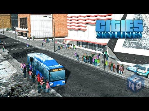 Cities Skylines - Автобусы на биотопливе! #7