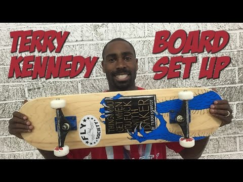 TERRY KENNEDY - BOARD SET UP & INTERVIEW