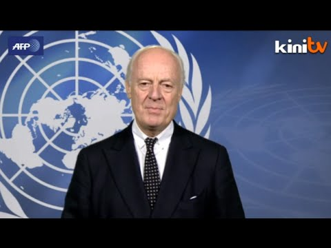 UN's Syria envoy calls for international action to defend Kobane