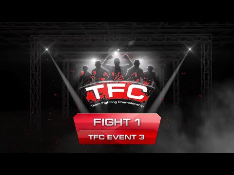 Fight 1 of the TFC Event 3 Barbarians FT (St. Petersburg, Russia) vs HFA (Gdynia, Poland)