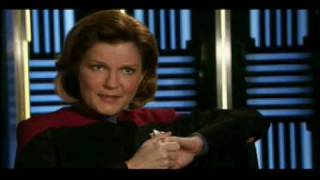 Janeway on Chaotica, Mulgrew on Robby, Janeway on Counterpoint