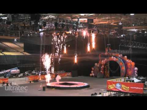 2011 Ultratec SPFX Pyrotechnics Show Reel