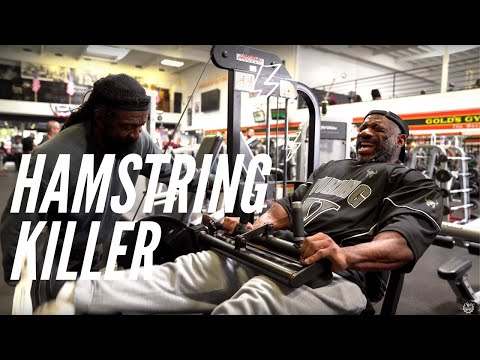 BACK ON THE ROAD TO OLYMPIA 2019 Dexter Jackson Hamstring Workout
