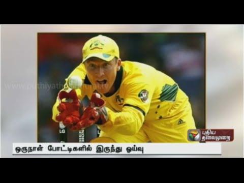 Australia's wicketkeeper Brad Haddin announces ODI retirement