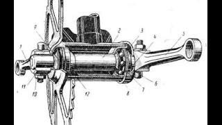 Ремонт педальной каретки велосипеда