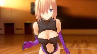 Fate Grand Order VR feat Gameplay - Mashu Kyrielight (PlayStation VR Gameplay)   Anime Game 2017
