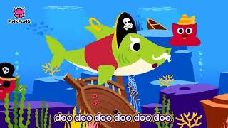 Halloween Sharks  Halloween Version of Baby Shark  Halloween Songs  PINKFONG Songs for Children