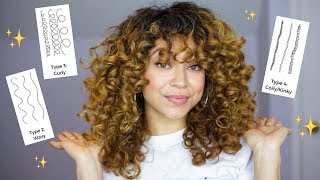 Find Your Curl Type! | All Hair Types w/ Pictures
