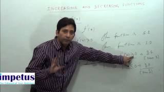 increasing and decreasing functions part  2