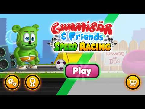 GummyBear and Friends speed racing Android Gameplay FHD   Car Racing Games For Kids   Kid Games