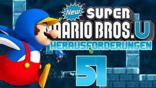 Let's Play New Super Mario Bros U [100%] part 51 - Auf der Überholspur