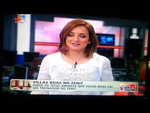 Jorge Jesus confirma Villas Boas no Zenit