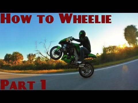 How to Wheelie a Motorcycle: Part 1 - Clutch up