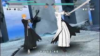 Bleach Heat the Soul 7 - Ichigo und Hollow-Ichigo (Ogichi) vs. Sajin Komamura