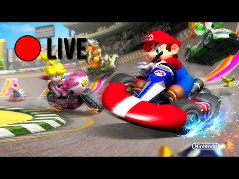 Let's Stream - Mario Kart Wii Wi-Fi Races | Part 1