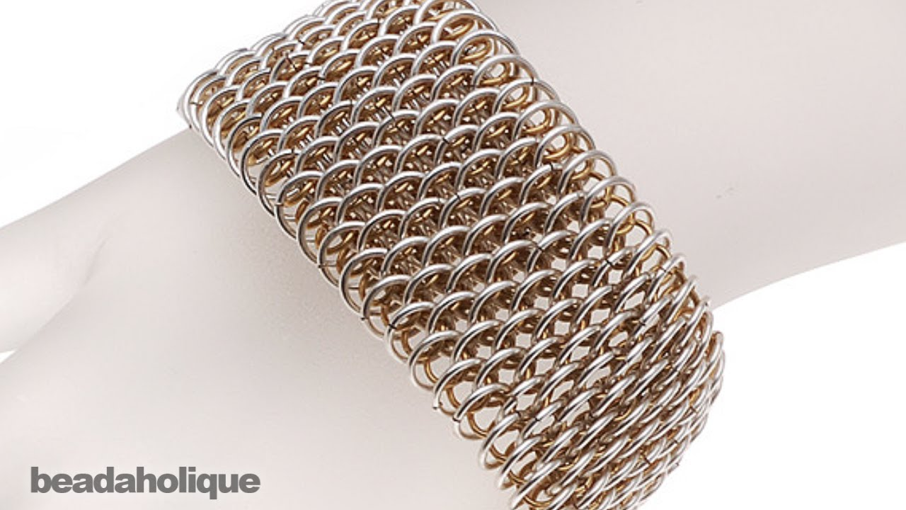 how to make fake chainmail