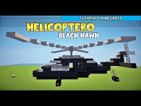 Tutoriais Minecraft: Como Construir um Helicóptero
