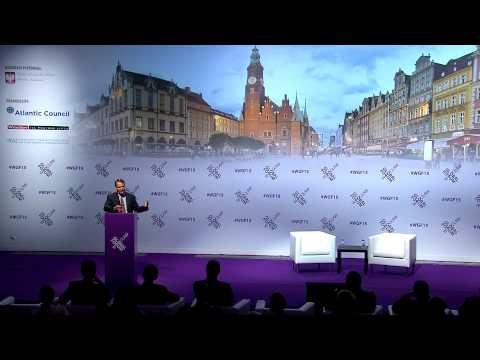 Wroclaw Global Forum 2015 - Keynote: Radoslaw Sikorski