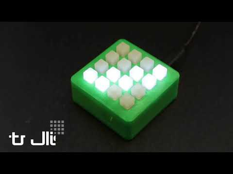 Adafruit Trellis - Open source backlight keypad driver system