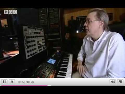 Klaus Schulze talks about, and demonstrates, his first synth an EMS Synthi A Music Videos