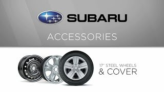 Genuine Subaru Accessory - 17-inch Steel Wheel and Wheel Cover (Silver)