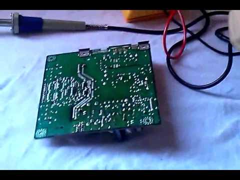 Manutenção do Monitor Samsung 740N parte 2