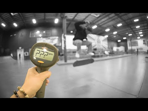 How Fast Can Emmanuel Guzman Fakie Flip?!