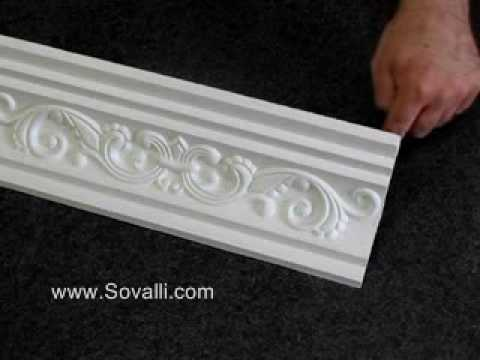 HPCV003 Sovalli Decorative Plaster Coving