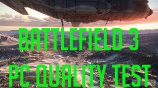 Battlefield 3 NICE CLIP!! (PC 1080p QUALITY TEST)