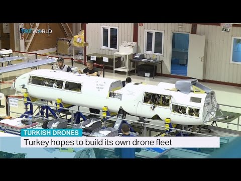 TRT World - Turkish Drones  ANKA