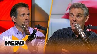 Bruce Feldman and Colin talk Miami Hurricanes, Crimson Tide, CFP rankings after Week 11 | THE HERD