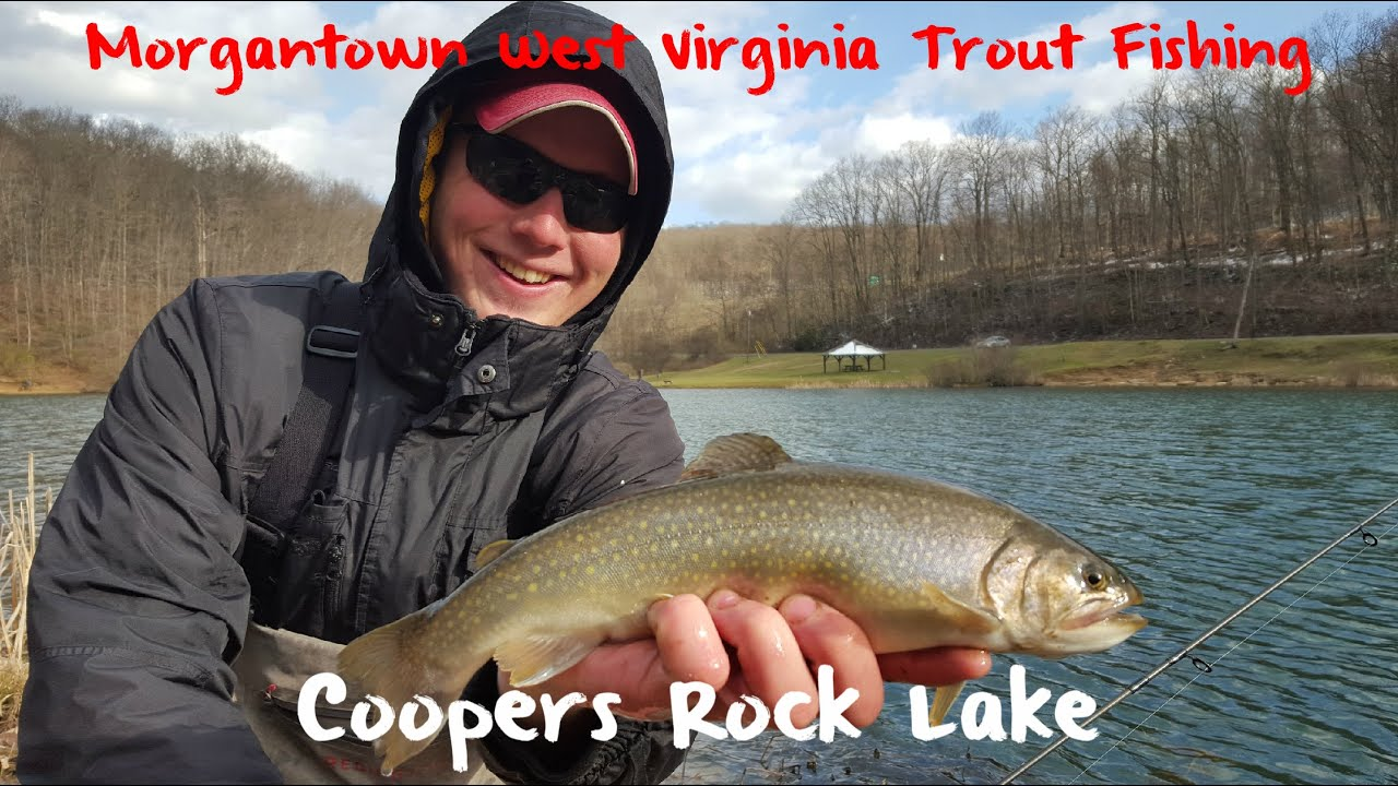 Trout fishing west virginia s coopers rock lake fishing bite for Trout fishing in wv