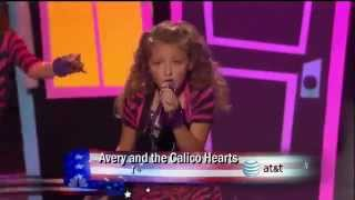 Avery and The Calico Hearts - I Wish (Stevie Wonder) - Semi Final America's Got Talent