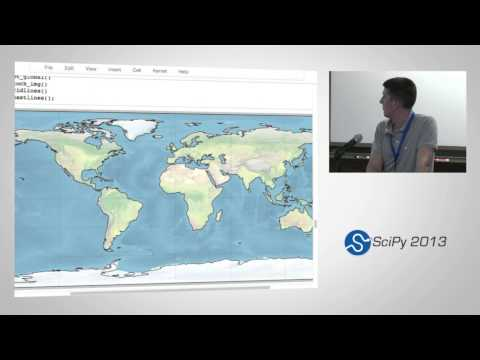 Iris & Cartopy: Python packages for Atmospheric and Oceanographic science; SciPy 2013 Presentation