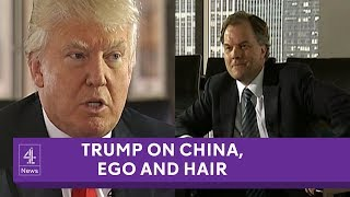 Donald Trump's interview with Channel 4 News