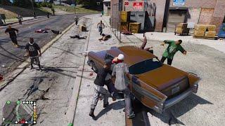 GTA 5 - Cuộc chiến tay không giành địa bàn của băng đảng ND Gaming