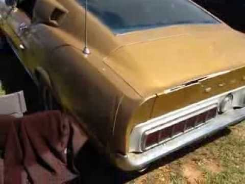 Original Barn find 1968 GT500 Shelby