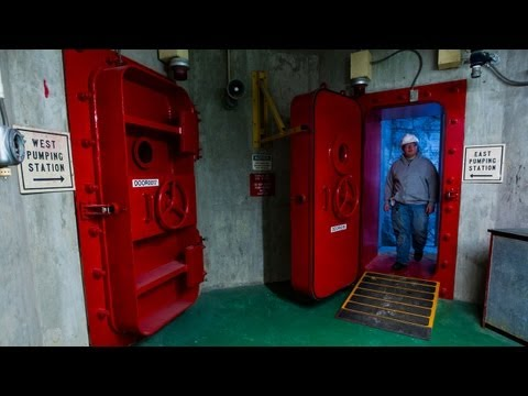 Environmental group takes Deep Tunnel tour