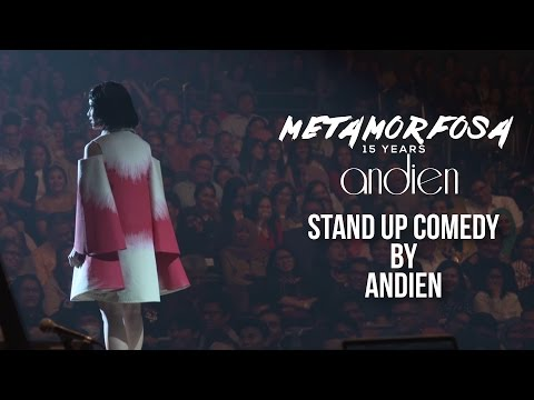 Andien - Stand Up Comedy | (Andien Metamorfosa)