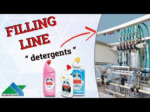 Albertina - Filling line for cleaners 03
