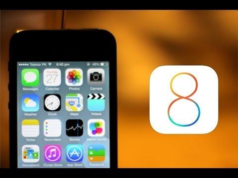Инструкция, как обновить iPhone 4 до iOS 8