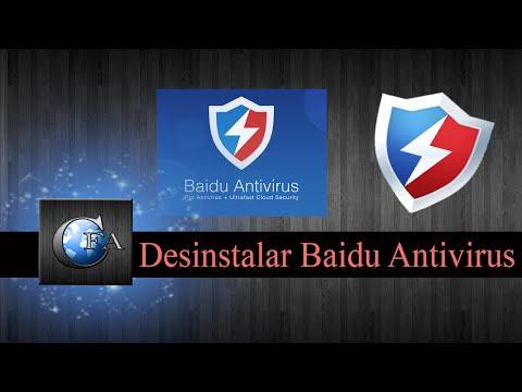 Desinstalar Baidu Antivirus