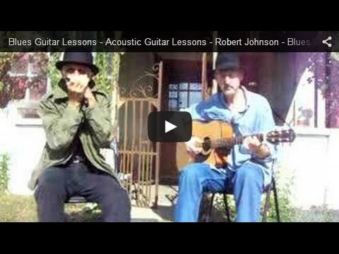 Blues Guitar Lessons - Acoustic Guitar Lessons - Robert Johnson - Blues Music - Me and the Devil Music Videos