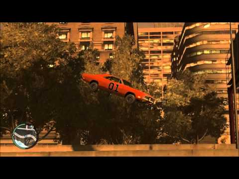 General Lee Jumps 2 gta 4