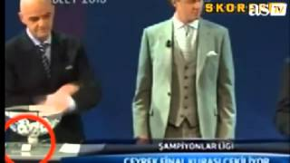 UEFA DRAW SCANDAL !!! Champions League Draw SCANDAL !! MISSION IMPOSSIBLE