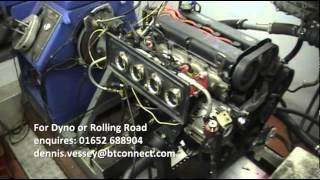 Ford Zetec BlackTop Engine Dyno Run March 2014