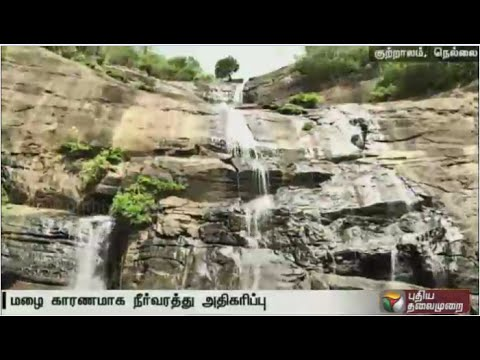 Live report: Tourists inflow to Courtallam begins as season begins