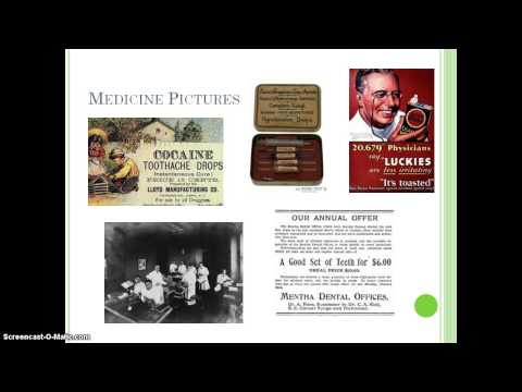 Medicine in the 1900's